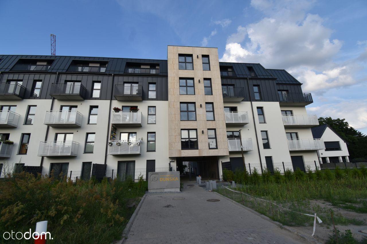 Apartamenty Duńska - Warszewo; niski blok - balkon