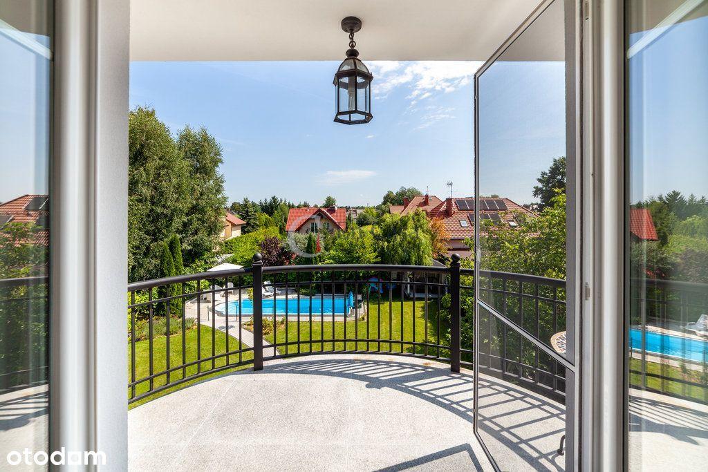 Piękny dom wolnostojący   Zalesie Dolne   Basen