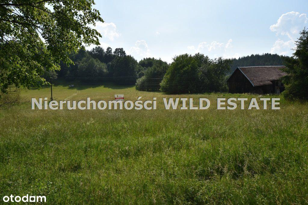 Działka, 4 407 m², Lesko
