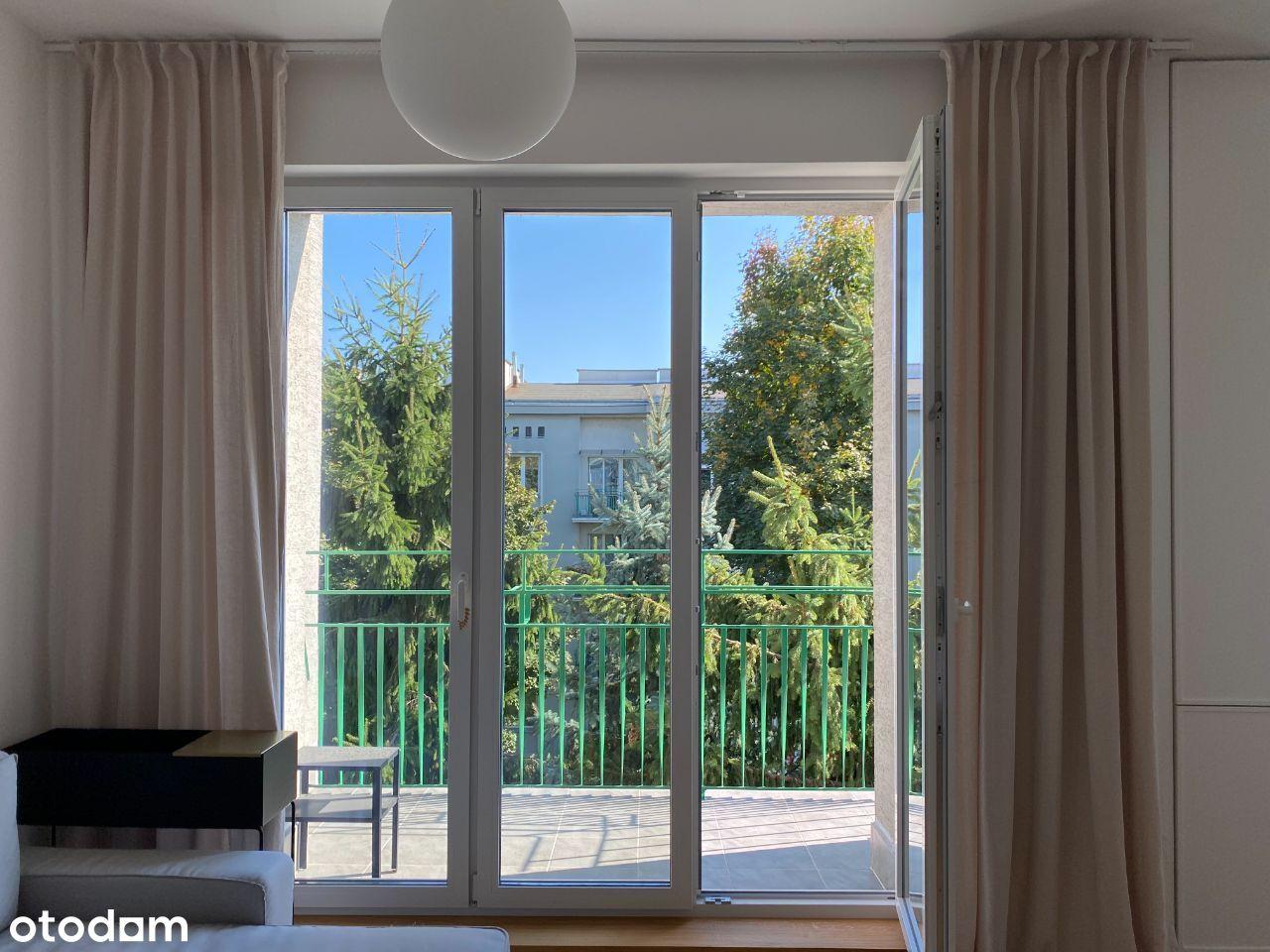 2 piękne pokoje z balkonem blisko METRO SŁODOWIEC