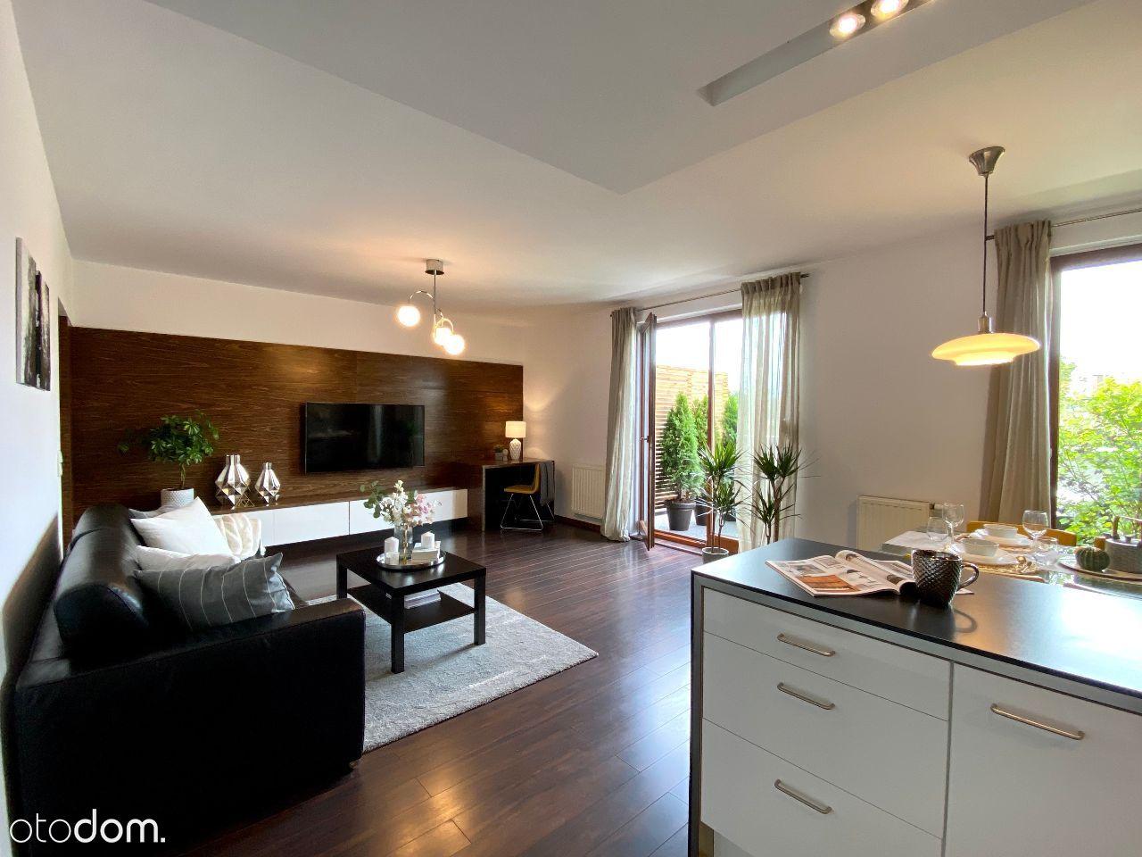 Przestronne przytulne mieszkanie, wysoki standard