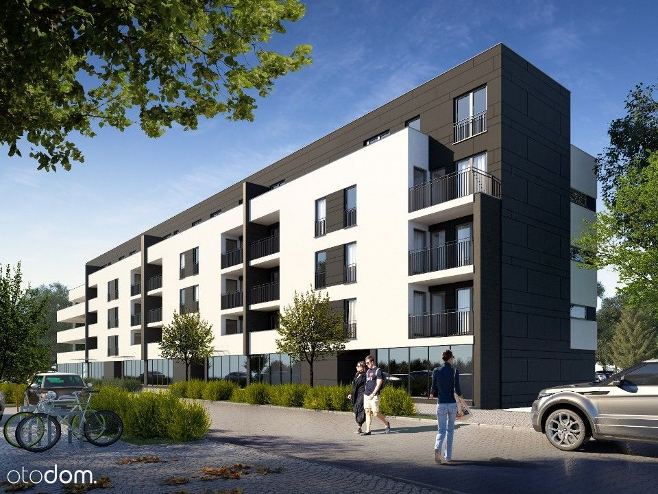 """Trzypokojowe mieszkanie """"Apartamenty Bacha"""" A14"""
