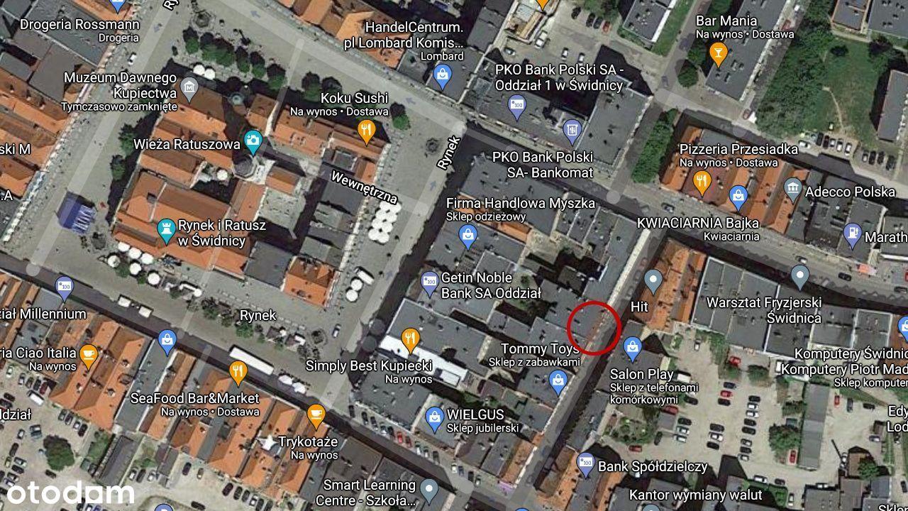 Wynajmę lokal z witryną w centrum Świdnicy - 25m2