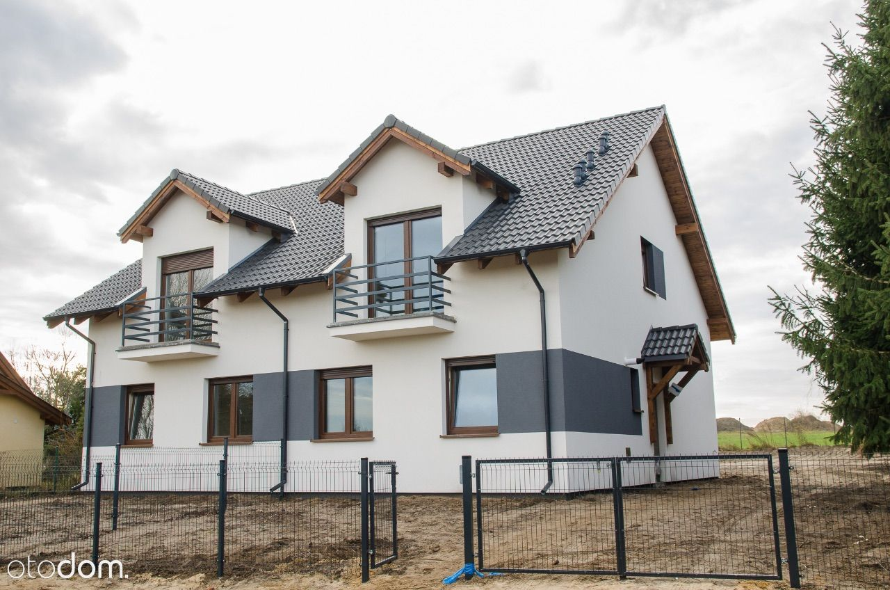 Dom bliźniaczy - Dachowa - lewa połowa