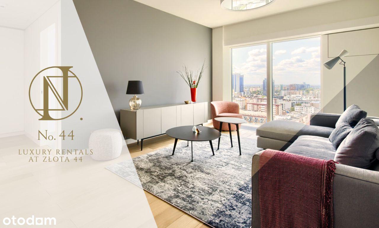 Luksusowy apartament na Złotej 44 na 2 miesiące