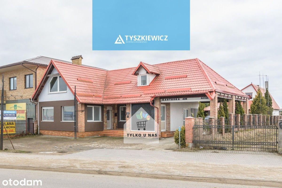 Nieruchomość inwestycyjna z domem !