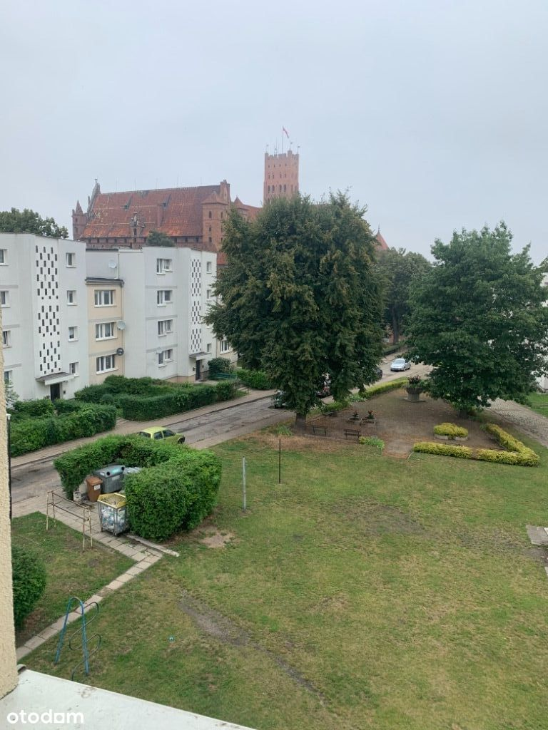 Malbork Stare Miasto z widokiem na zamek 43m2