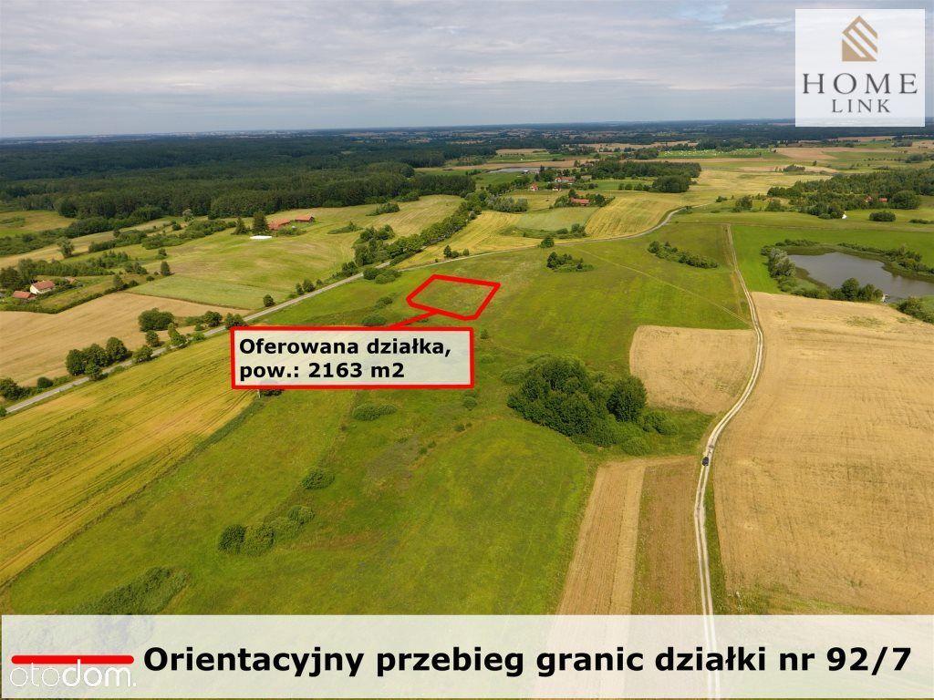 Działka budowlana Mazury, okolice Olsztyna