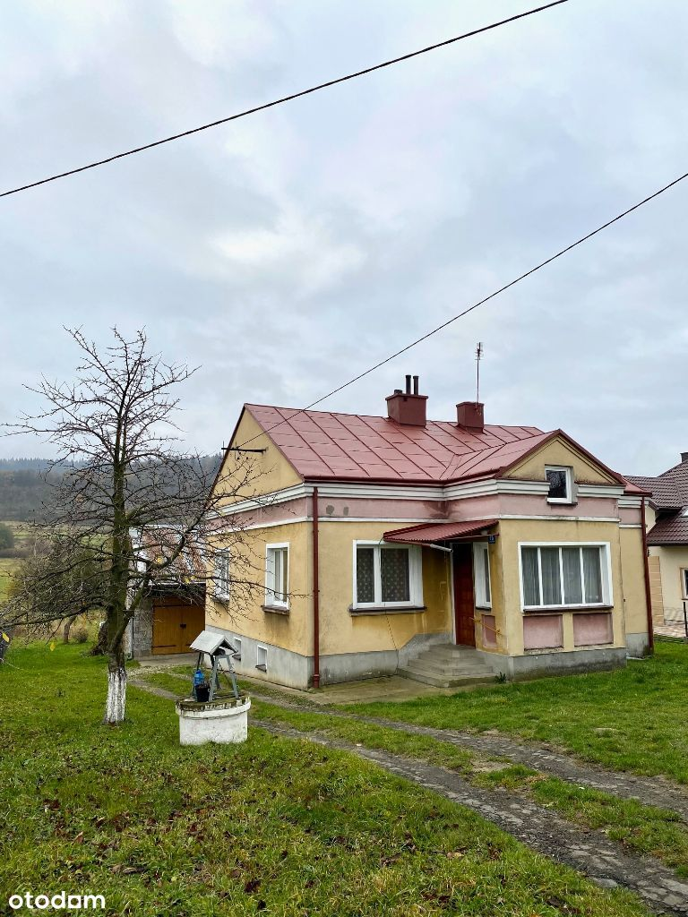 dom murowany gmina Dukla