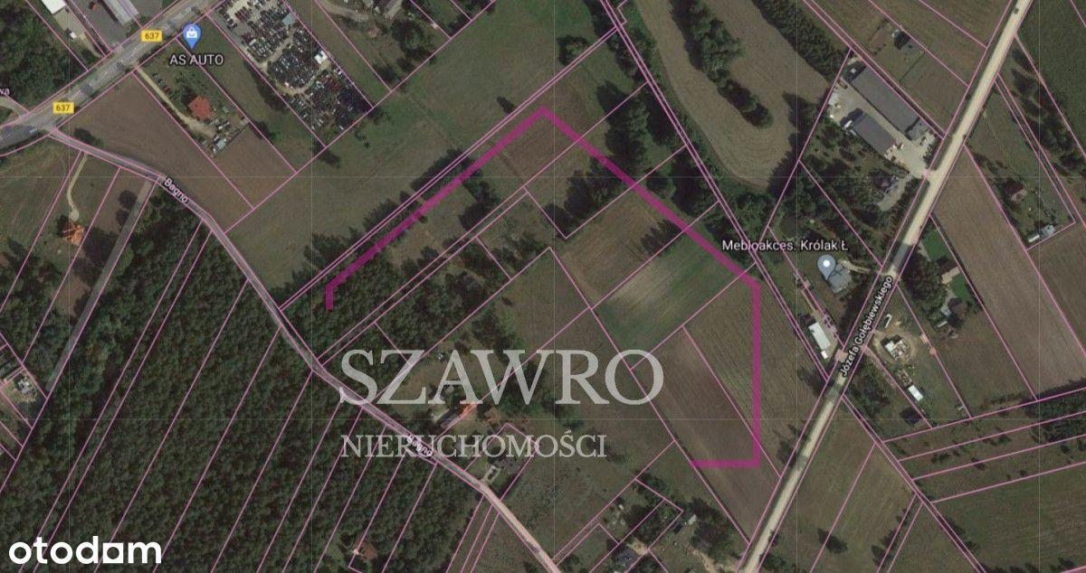 Działka Inwestycyjna Węgrów w pobliżu rzeki Liwiec