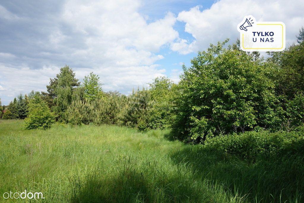 Działka 2 500m.kw w spokojnej okolicy, blisko lasu