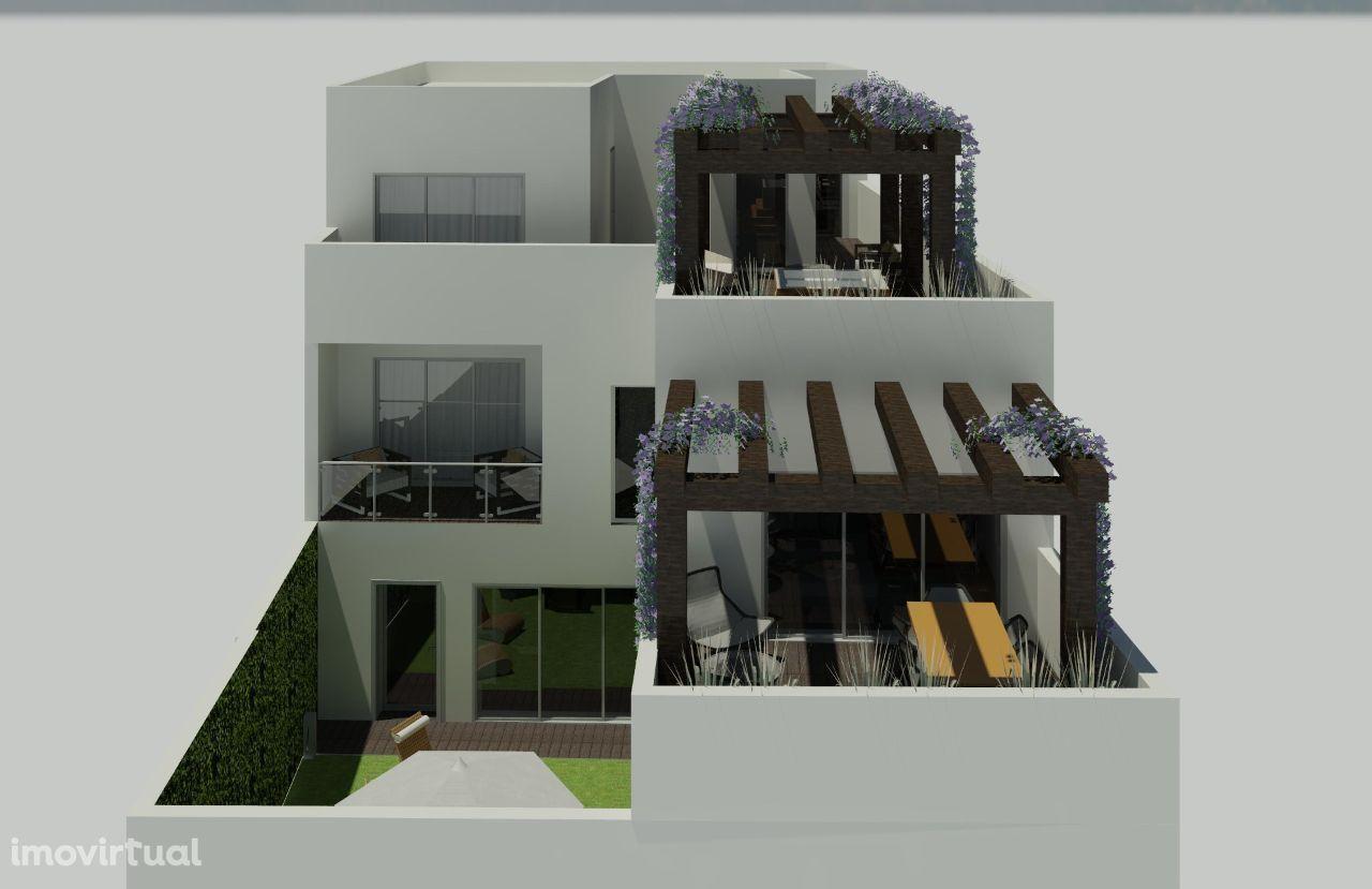 Magnifico Projeto para Edifício De Habitação no Vale das Flores