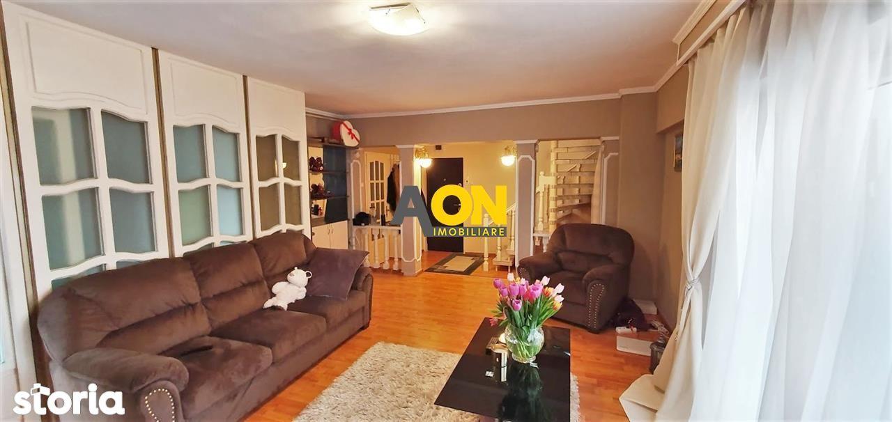 Apartament 4 camere, mobilat, utilat, 110 mp utili, et.3, ultracentral