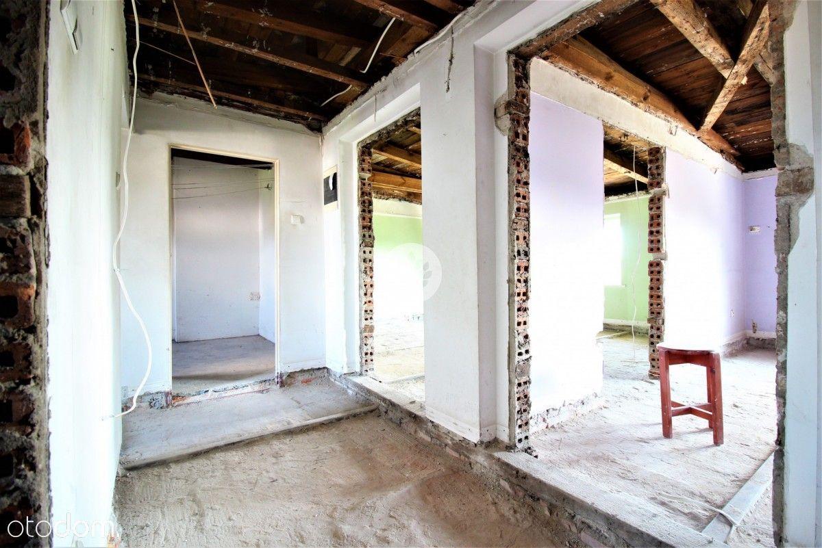 Mieszkanie bezczynszowe, 3 pokoje, do remontu