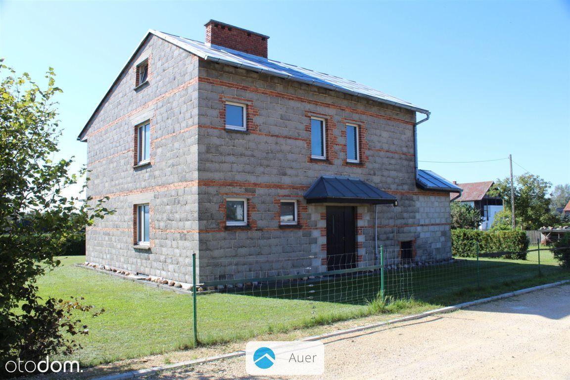 Dziergowice – 10 arów, dom w stanie surowym