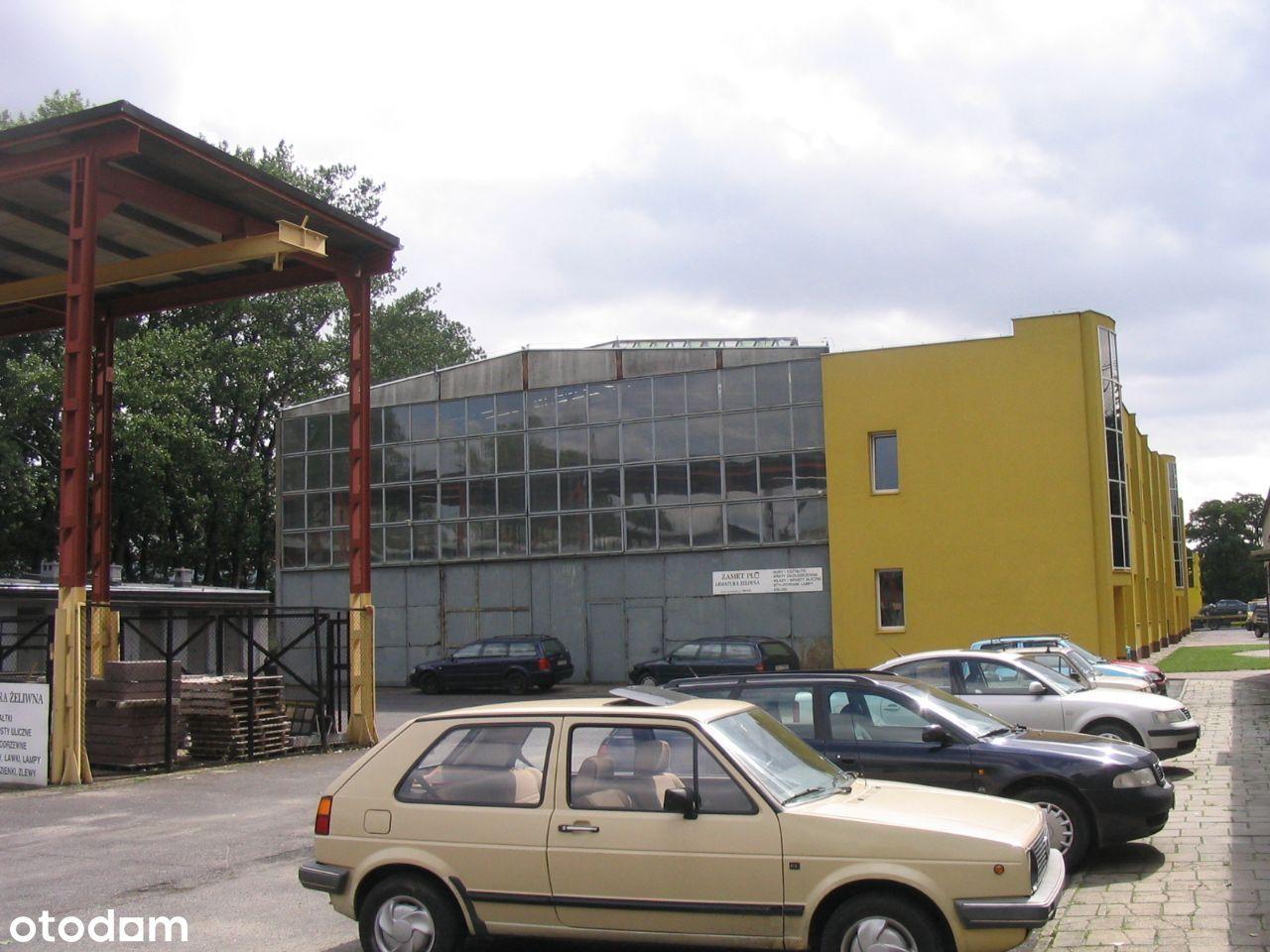 Obiekt komercyjny-hala- biurowiec- bud.socjalny.