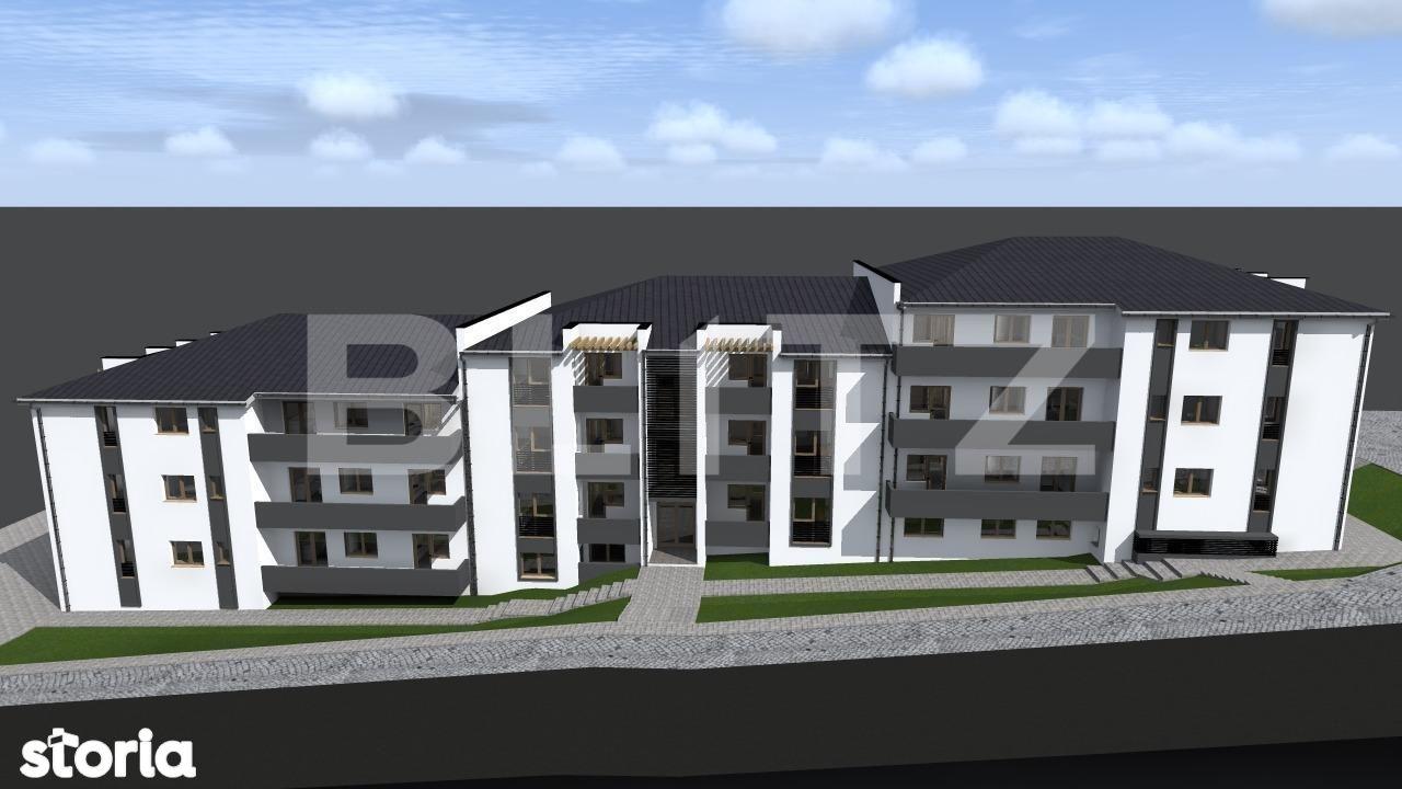 Ansamblu rezidential in Apahida la 10 minute de Cluj Napoca