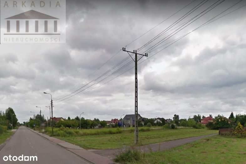 Działka, 800 m², Łomianki
