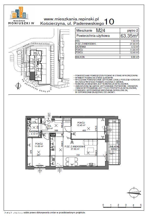 Mieszkanie 3 pok, NOWE, pełna własność, balkon