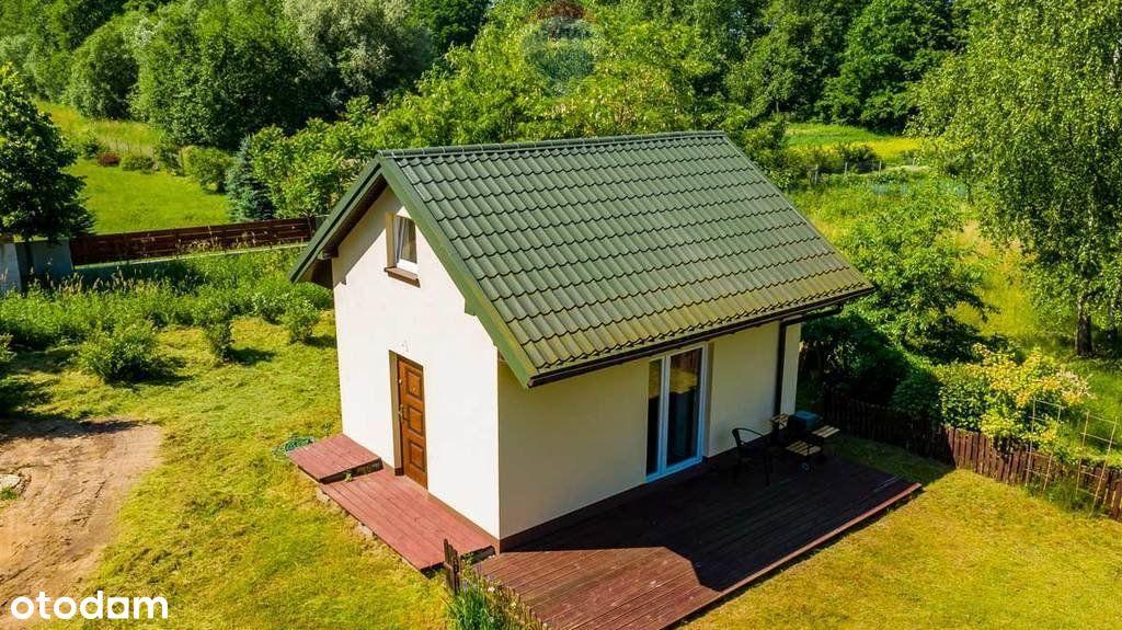 Działka z domkiem letniskowym, 4200m2 w Retkowie