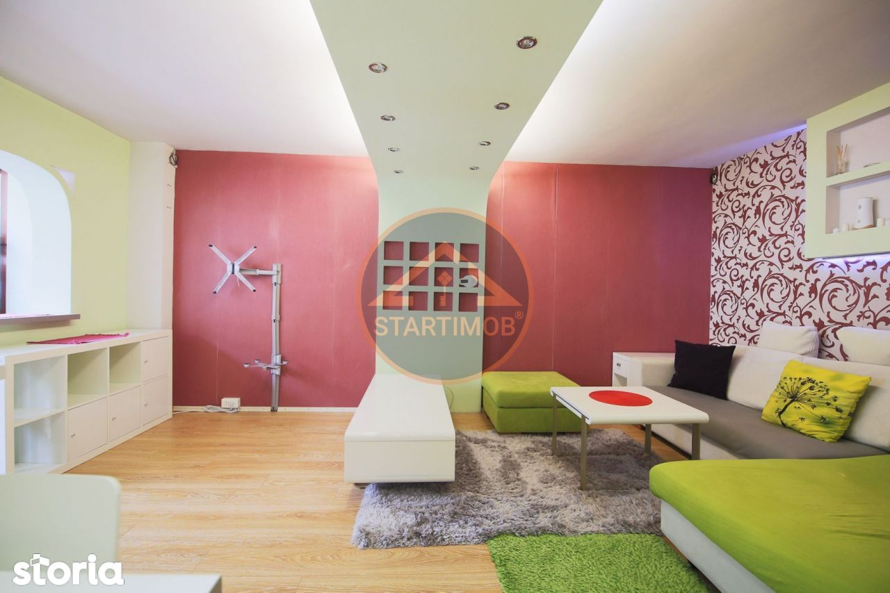 Apartament mobilat trei camere Racadau