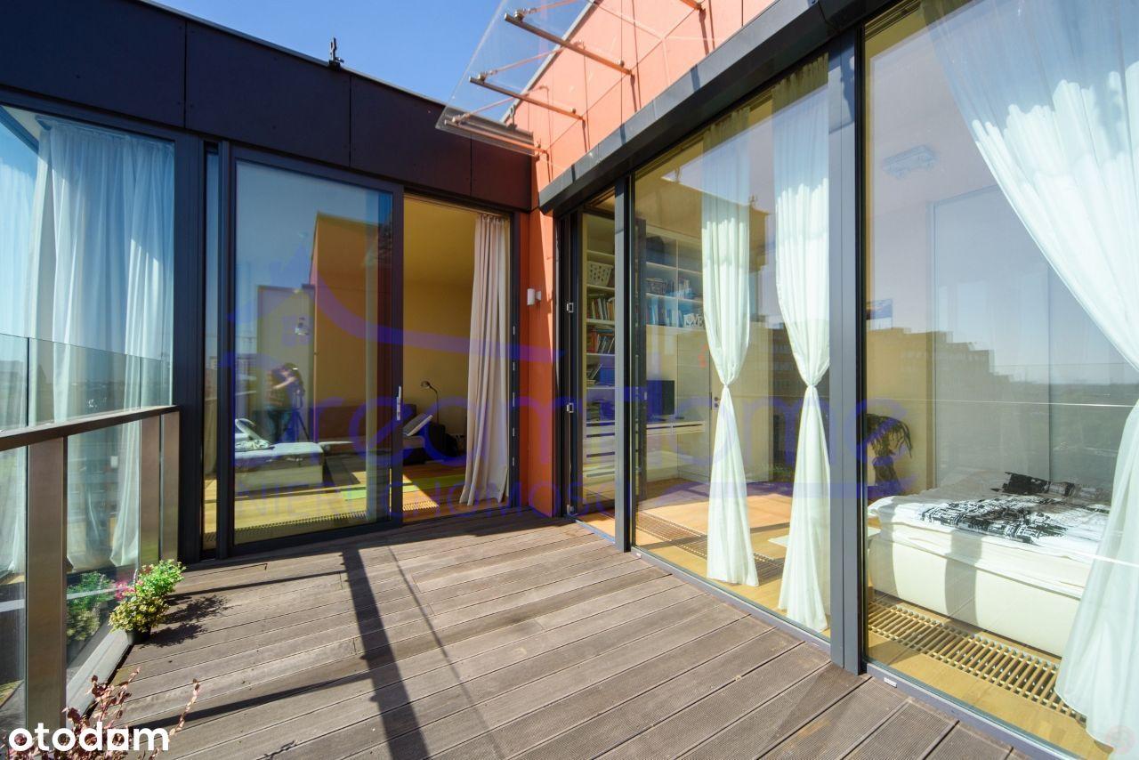 Loftowy apartament 2 pok. z tarasem