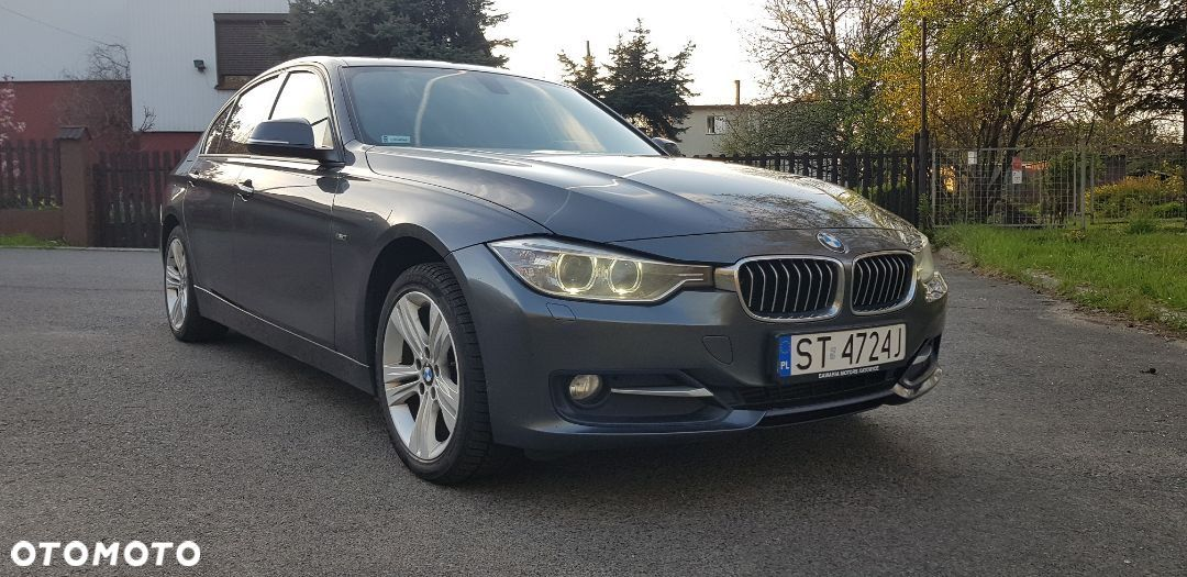 BMW Seria 3 BMW f30 318D Sport Line BLACK EDITION PL Salon - 1
