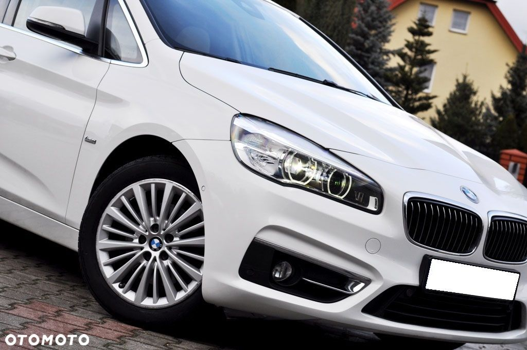 BMW Seria 2 LUXURY Gran Tourer 2.0d 150KM Panorama Kamera Head Up Pamięć Fotela - 11
