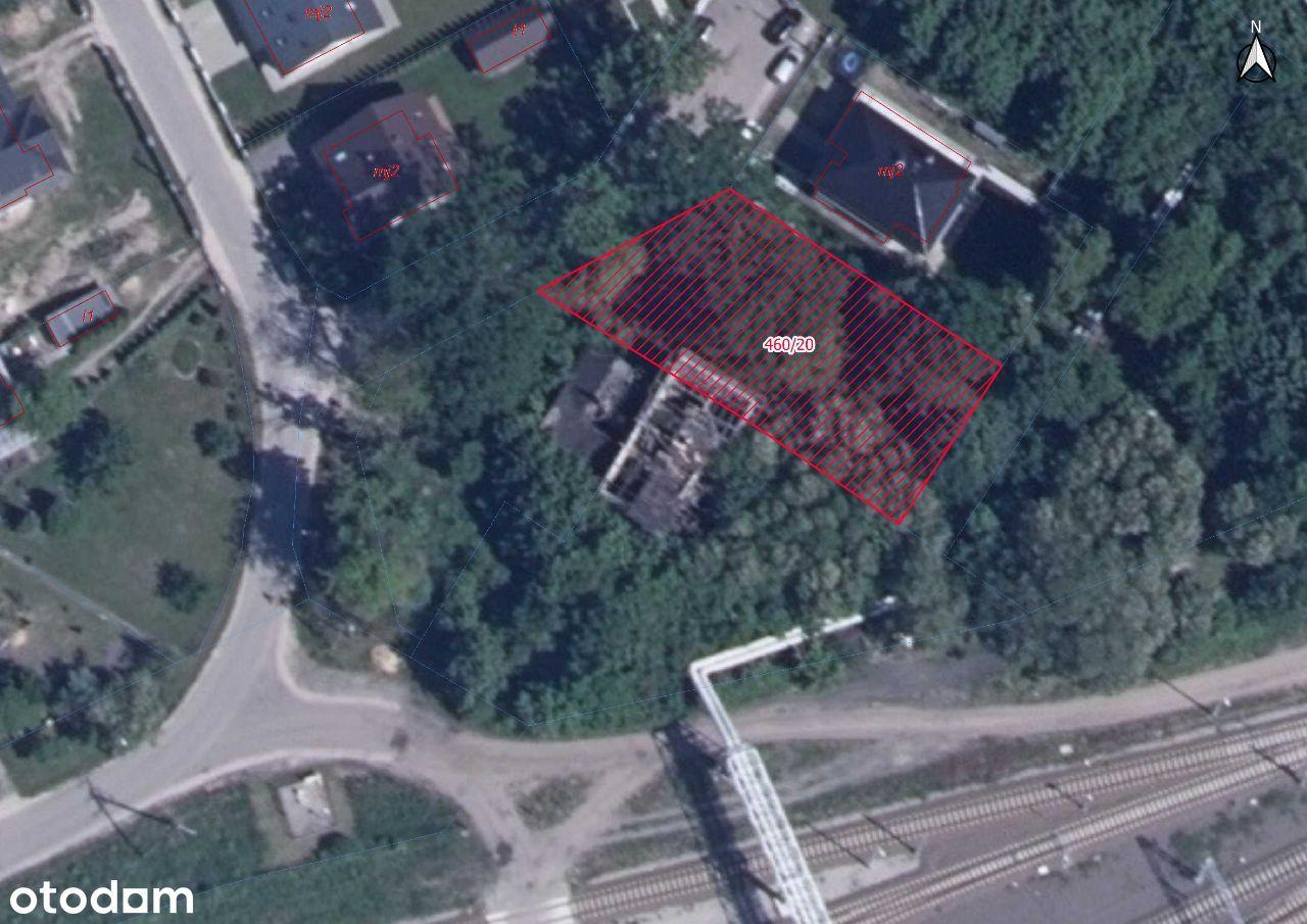 Działka bud. – Skierniewice, ul. Bielańska, 830 m2