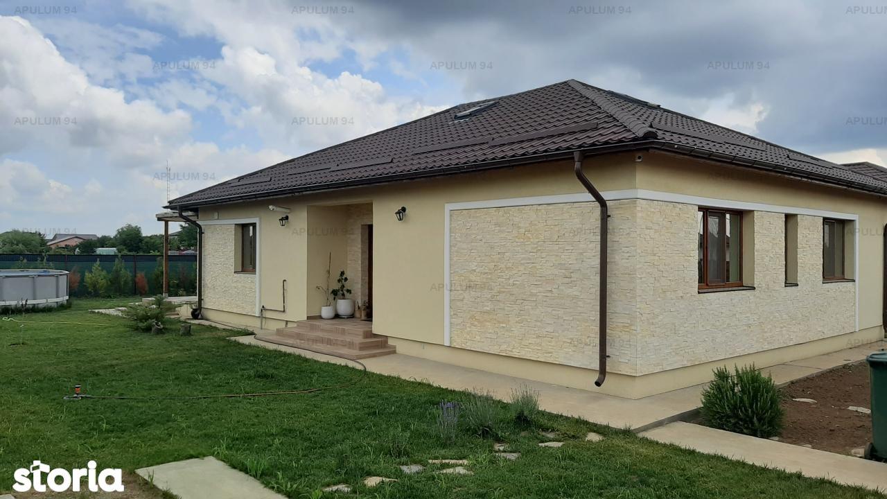 Casa 4c parter 112 mp utili, curte 518 mp, Sabareni, langa Bucuresti