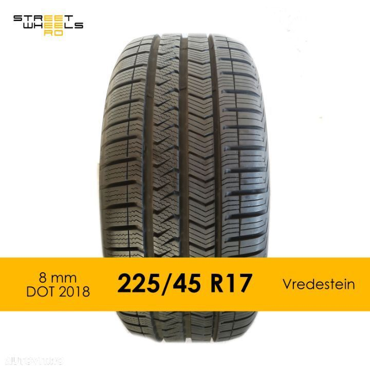 225/45 R17 Vredestein Allseason Quatro 5 - O Anvelopa All season MS 225 45 17 - 1