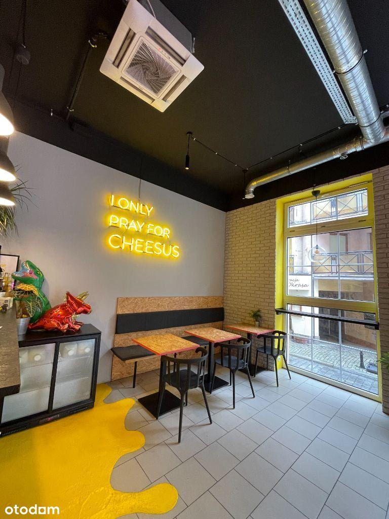 Restauracja CHEESE is more sprzedaż/odstępne