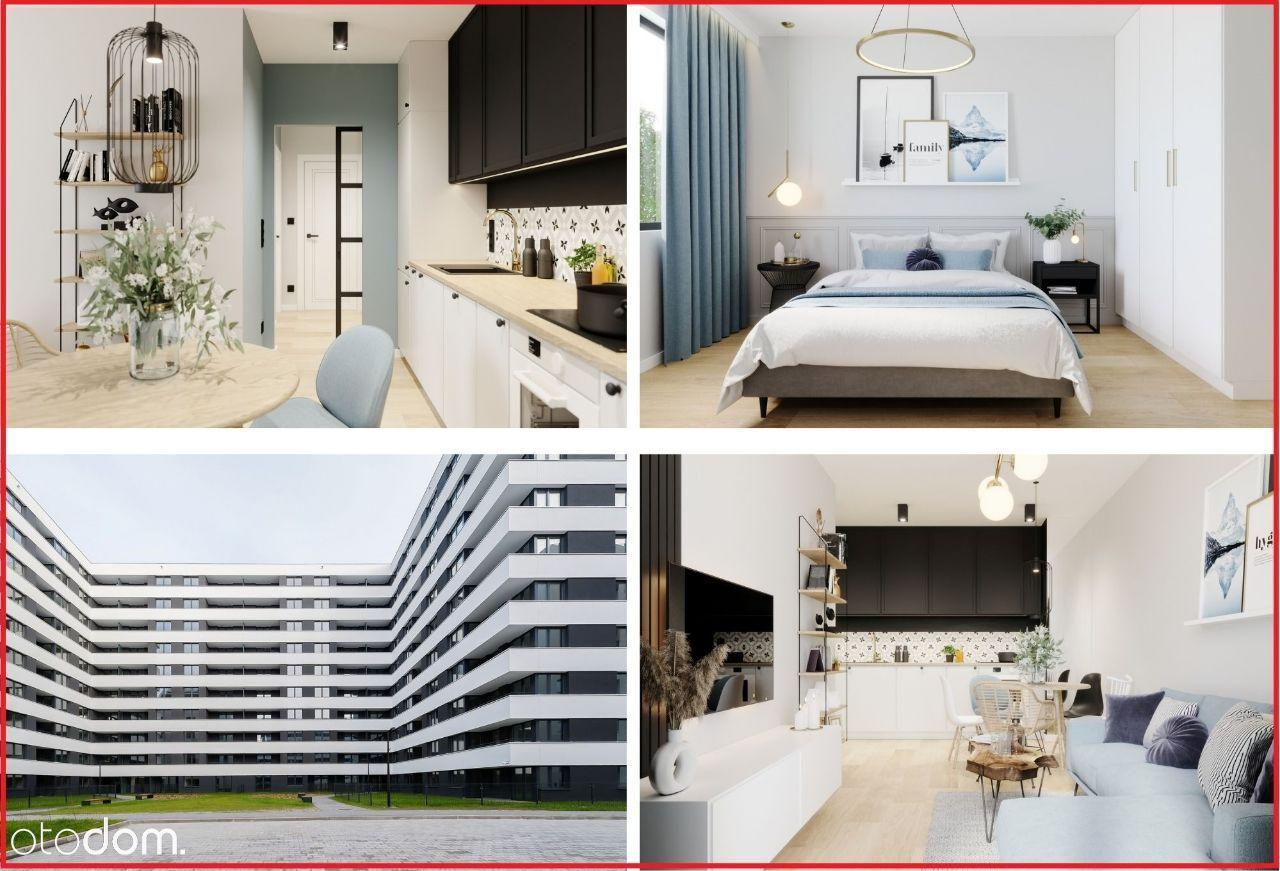 Jasne 3 pokojowe mieszkanie w nowym budownictwie