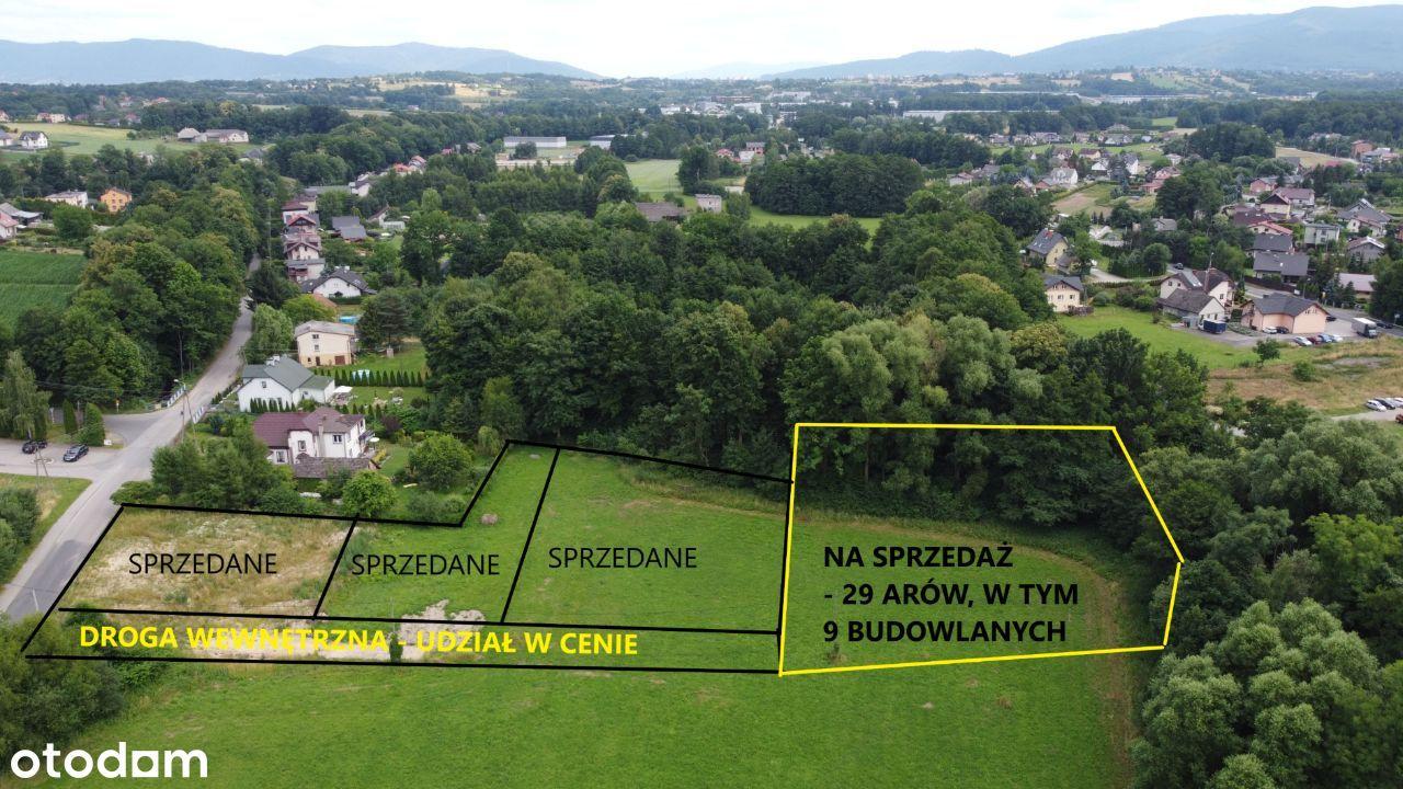 Inwestycja w grunt budowl-rolny 6 km od centrum BB