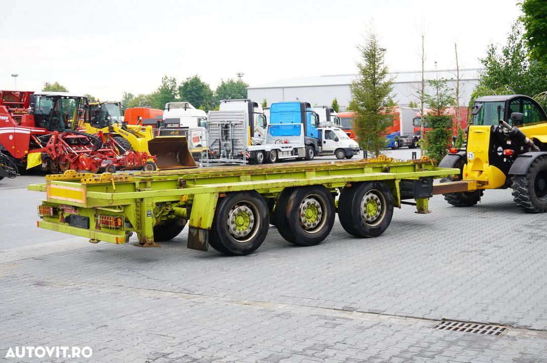 Krone Truckmate 3 axles , Roll-of tipper , 7m - 4