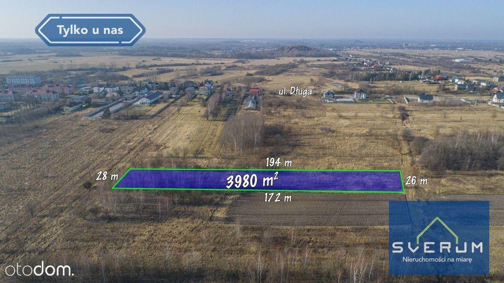 Działka miejscowość Wrzosowa