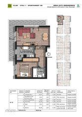 Brancoveanu adiacent 2 camere decomandat,etajul 1,bloc nou
