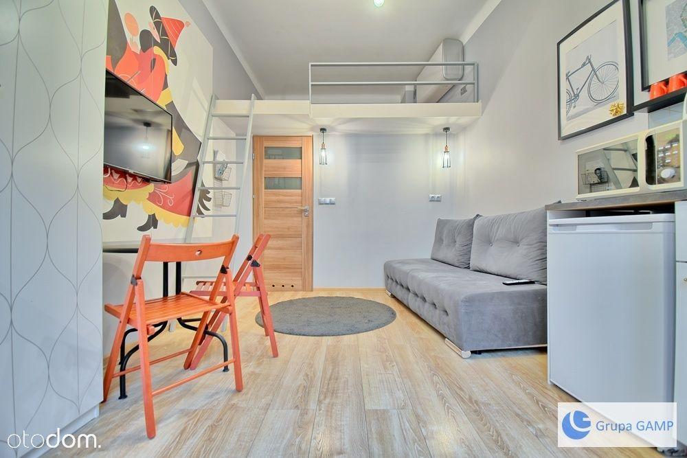 Jednopokojowe mieszkanie z antresolą w Centrum