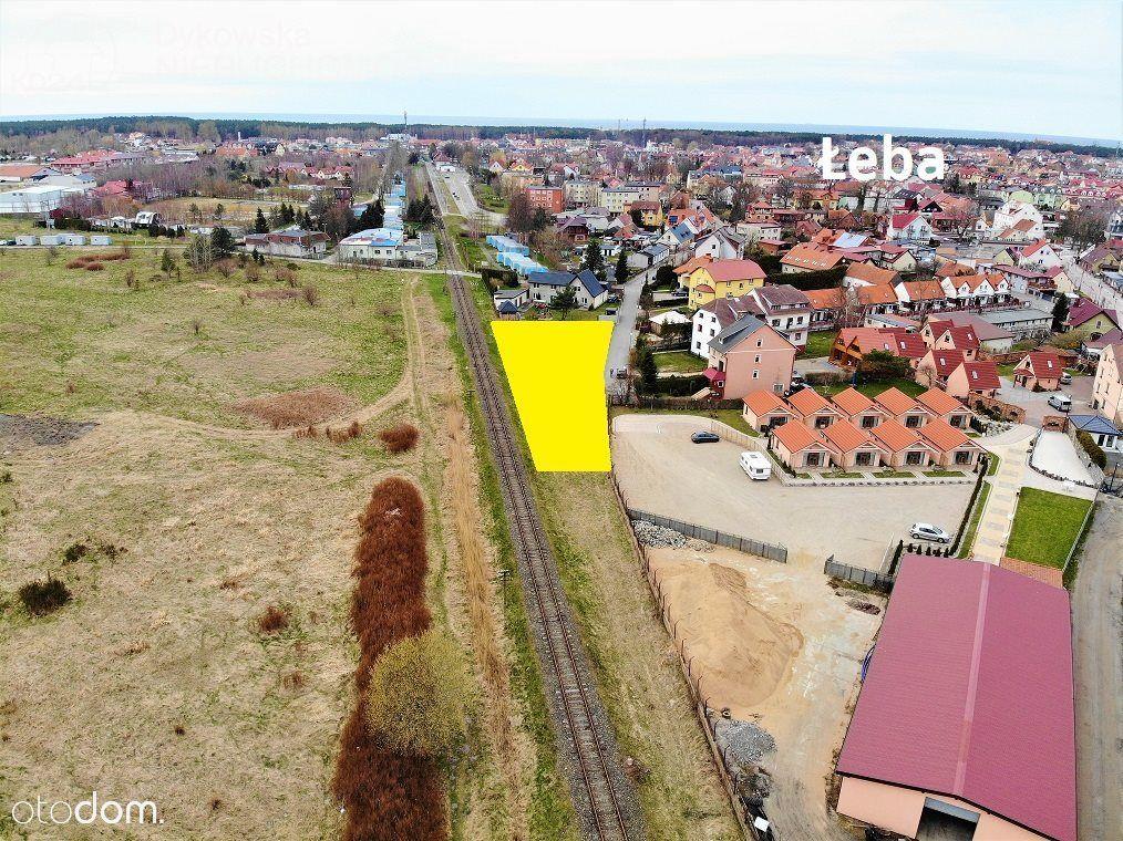 Działka, 1 414 m², Łeba