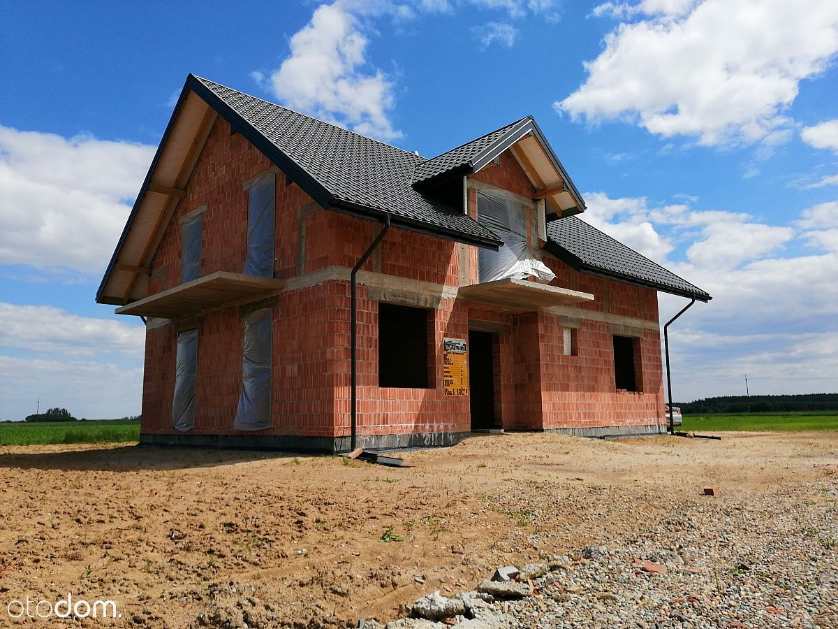 Dom Kliszów - stan surowy otwarty
