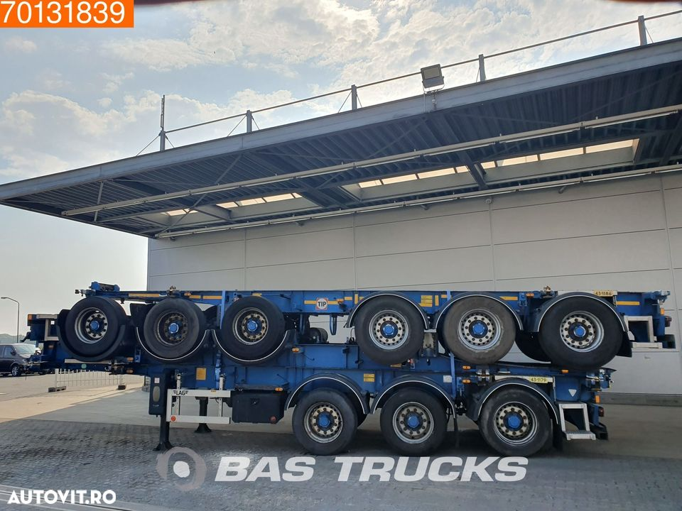 Lag Package of 3 3 axles ADR 1x 20 ft 1x30 ft - 5