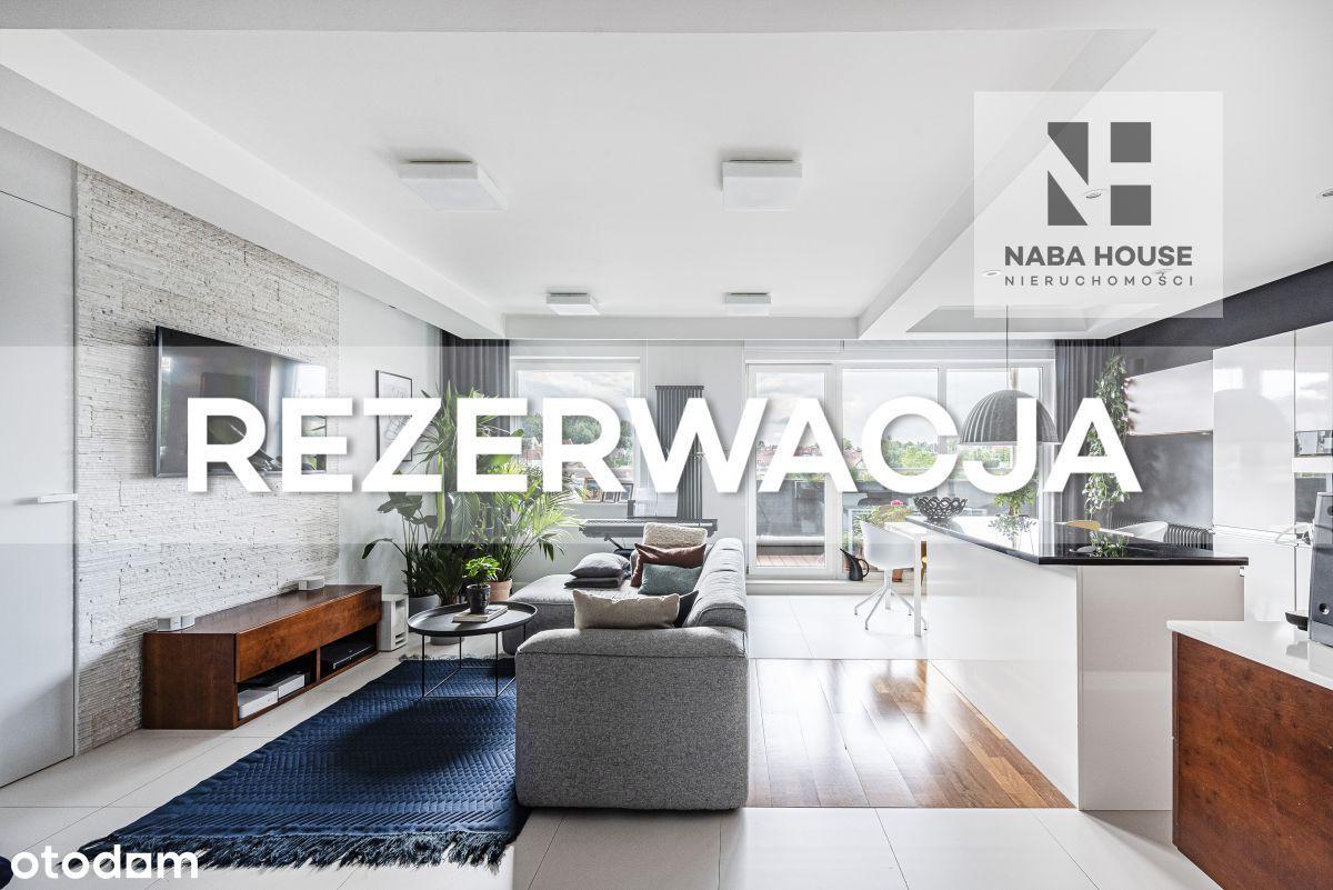 Elegancki apartament z tarasem - 92 m2.
