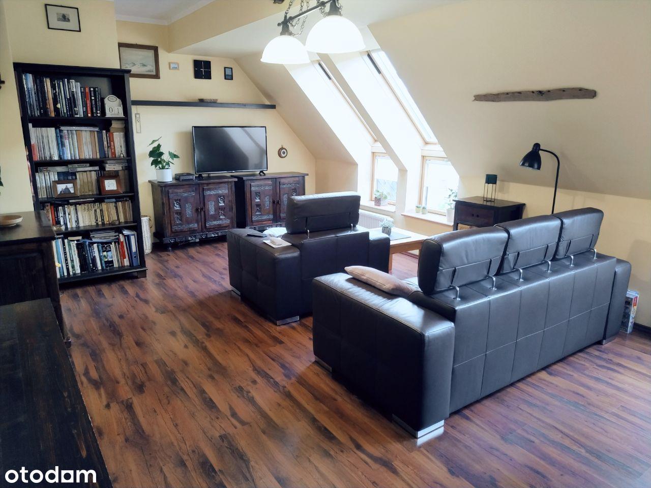 Mieszkanie 3 pok. dwupoziomowe Bukowo Glinki 74,5m