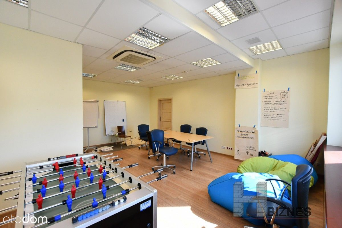 Atrakcyjne klimatyzowane biuro z aneksem kuchennym
