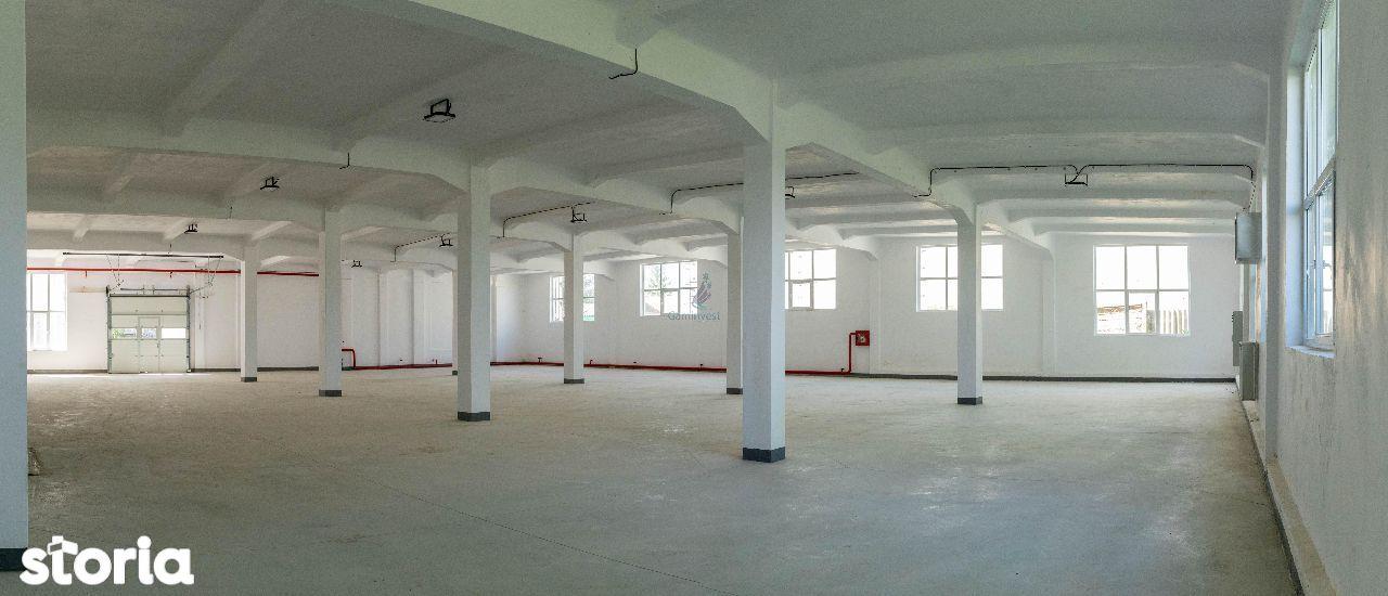 Complex hale industriale de inchiriat,la 55 km de Oradea,Bihor A1595