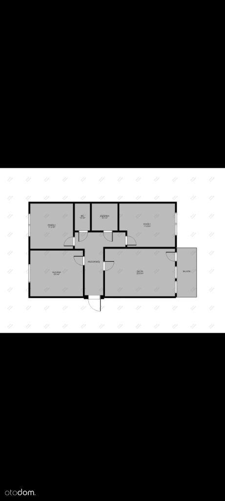 Mieszkanie M4 65m2 parter
