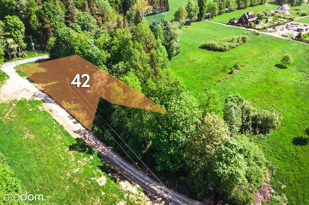 Działka budowlano - usługowa- leśna