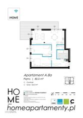 OSTATNI 80m2 apartament z tarasem
