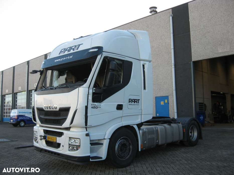 Iveco Stralis 420 + Euro 6 + Engine is perfect! - 1