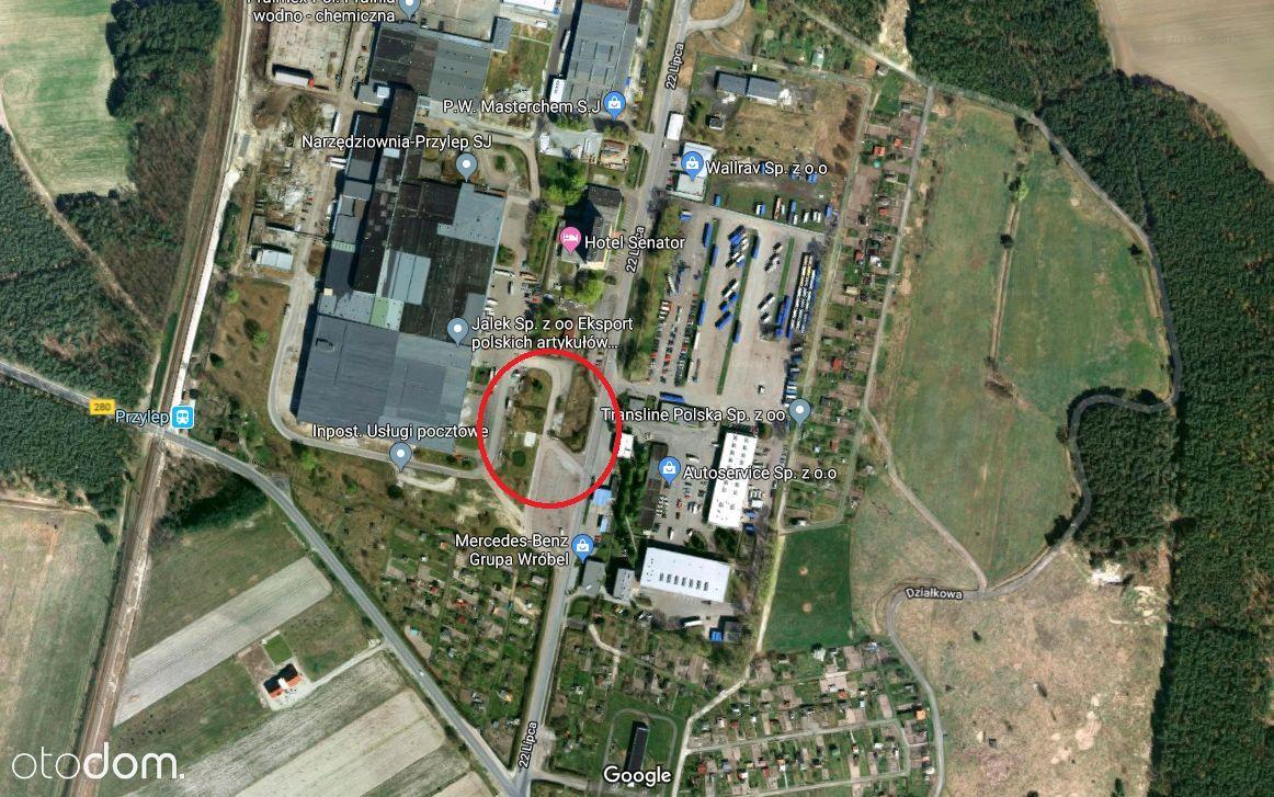Działka przemysłowa 4 238 m², Przylep